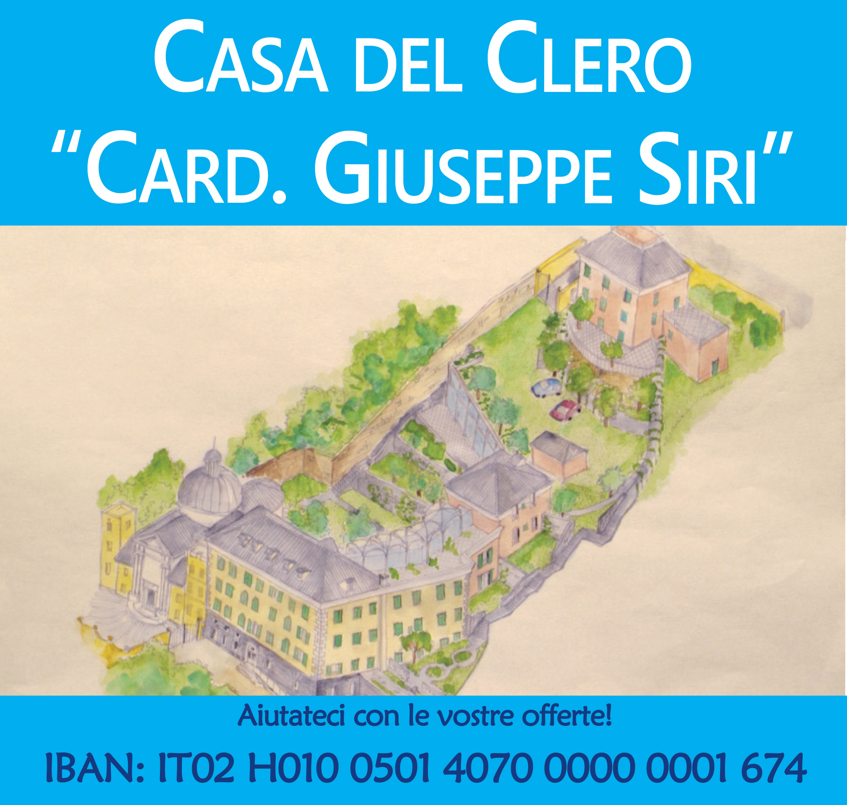 "Casa del clero ""Card. Giuseppe Siri"""