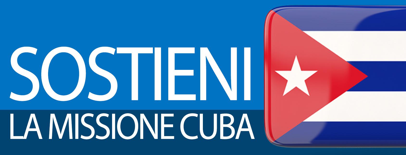 Sostieni la Missione Cuba